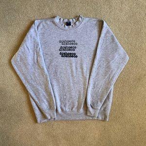 7201301fc3e Vintage DC Shoes Sweatshirt Men's Med